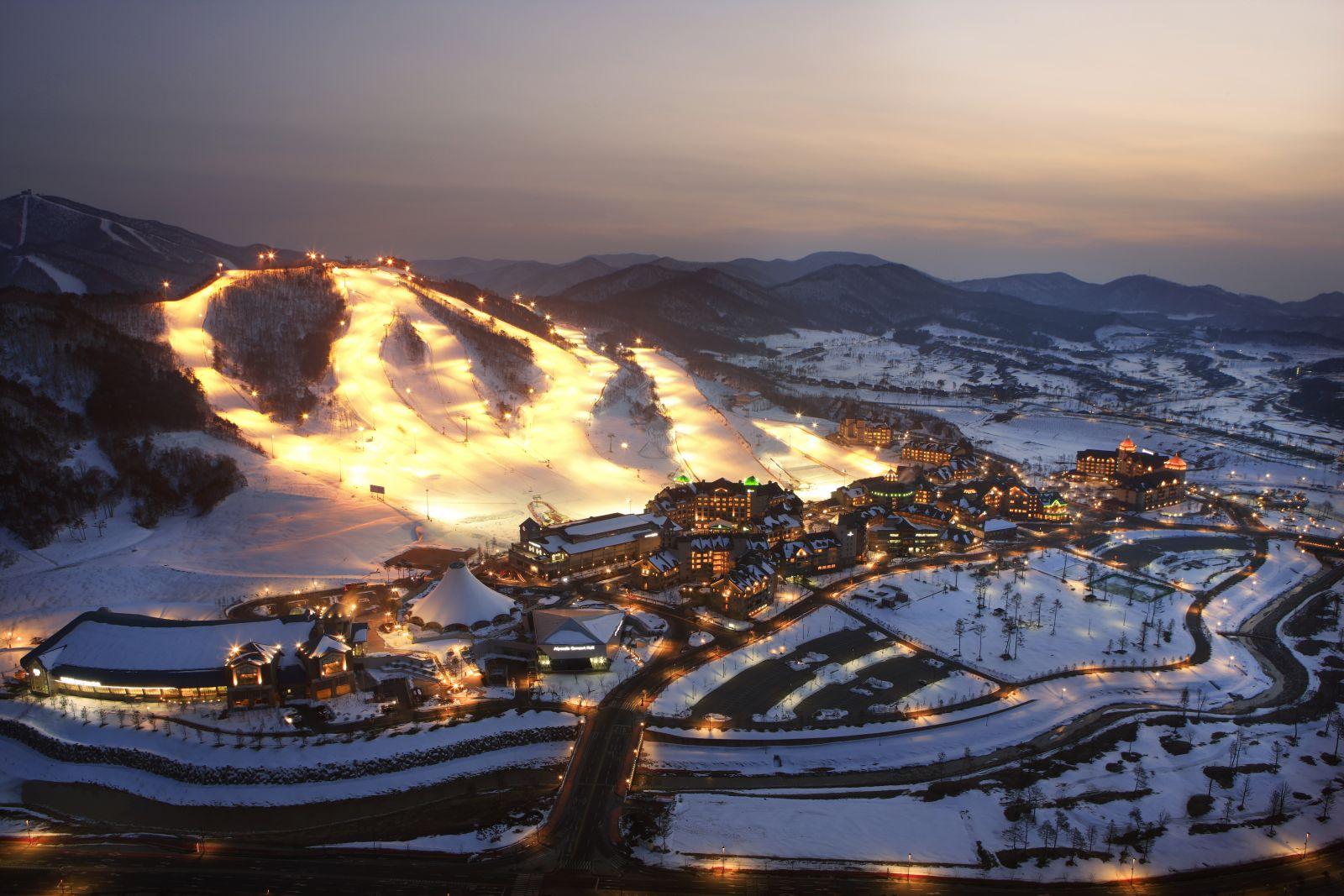 Địa điểm trượt tuyết lý tưởng